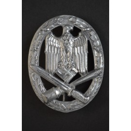 GAB General Assault Badge, zinc, by Rudolf Karneth.