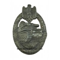 Tank Badge Bronze marked L/53 maker Hymmen & Co. Lüdenscheid.