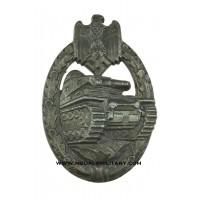 Tank Badge Bronze marked L/53 maker Hymmen & Co. Lüdenscheid.