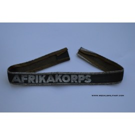 An Afrikakorps Campaign Cufftitle.