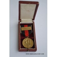 MEDAL TO COMMEMORATE 1 OCTOBER 1938 WITH PRAGUE CLASP IN BOX