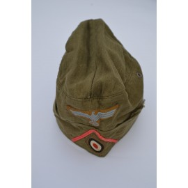 An Afrika Korps Panzer NCO's/Enlisted Man's Side Cap.