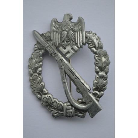A Silver Grade Infantry Badge by Josef Felix Söhne, Gablonz.