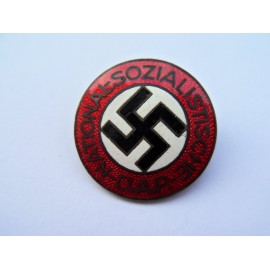 NSDAP Party Badge marked RZM M1/77 maker Foerster & Barth, Pforzheim.