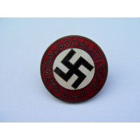 NSDAP Party Badge marked RZM M1/14 maker Matth. Oeschsler & Sohn, Ansbach.