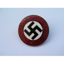Party Badge marked RZM M1/101 maker Gustav Brehmer, Markneukirchen.