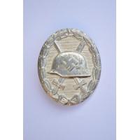 Wound Badge Silver marker Gustav Brehmer.