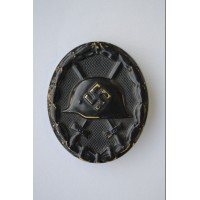 WOUND BADGE BLACK GRADE, NONMAGNETIC.