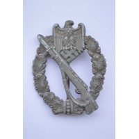 IAB Infantry Assault Badge, zinc, unmarked maker Wilhelm Deumer, Lüdenscheid.