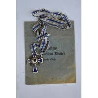 MOTHER'S CROSS SILVER GRADE WITH ENVELOPE