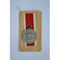 German Social Welfare Medal with enwelope maker marked Gebrüder Godet & Co, Berlin.