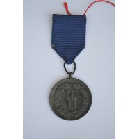 An SS-Eight Years' Service Medal 2 type by Petz and Lorenz.