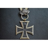 An 1870 Iron Cross Second Class with 25 Years Jubilee Spange.