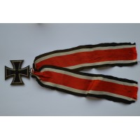 An Original Ribbon for a Knight's Cross of the Iron Cross 1939