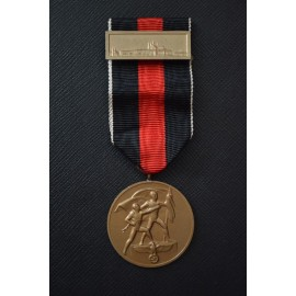 MEDAL TO COMMEMORATE 1 OCTOBER 1938 WITH PRAGUE CLASP.