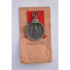 A 1941 - 42 EAST MEDAL MARKED 10 maker Förster & Barth, Pforzheim with enwelope.