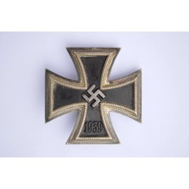 Iron Cross First Class 1939 marked 26 By B. H. Mayer, Pforzheim.