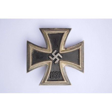 Iron Cross First Class 1939 maked 26 By B. H. Mayer, Pforzheim.