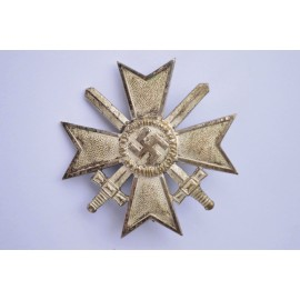 Germany, Wehrmacht. A War Merit Cross I Class with Swords, by C.E. Juncker