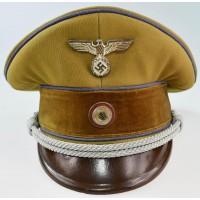 NSDAP POLITICAL LEADER'S VISOR CAP