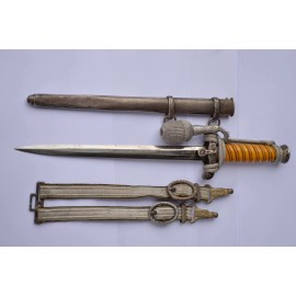 Early Gebr. Heller Army Dagger with hagger.