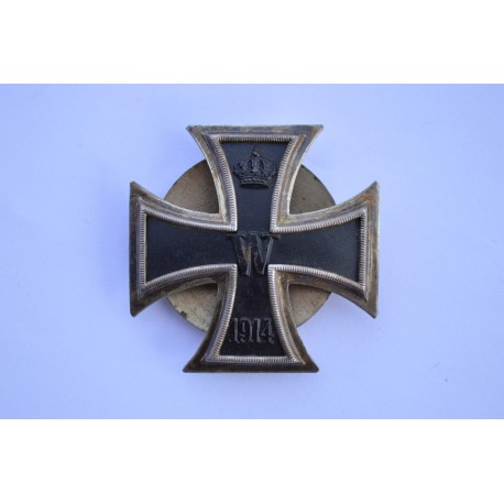 An Iron Cross First Class 1914 by Schauerte & Hohfeld, Lüdenscheid