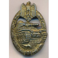 Tank Badge Bronze maker Steinhauer & Lück, Lüdenscheid.