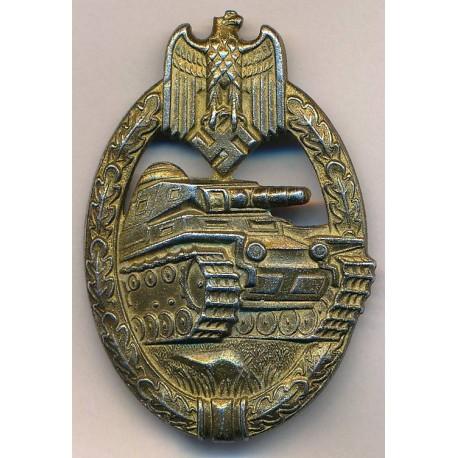 Tank Badge Bronze maker Steinhauer & Lück, Lüdenscheid.
