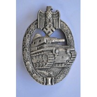 Silver Tank Badge by Adolf Scholze