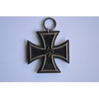 Iron Cross Second Class 1939 marked 123 of maker Beck, Hassinger & Co, Strassburg