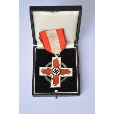 A Second War Period Fire Brigade Cross, 2nd Class