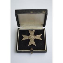A War Merit Cross first class without swords , with case maker Steinhauer & Lück.
