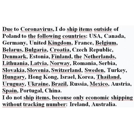Due to Coronavirus