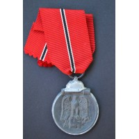 A 1941 - 42 EAST MEDAL MARKED double marked 58/58 maker Artur Jokel Gablonz.