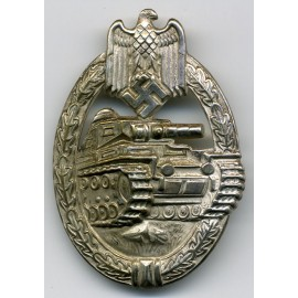 TANK BADGE SCHICKLE/B.H. MAYER - SILVER GRADE