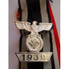 CLASP TO THE IRON CROSS SECOND CLASS 1939