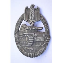 Silver Grade Tank Badge by Karl Wurster K.G.
