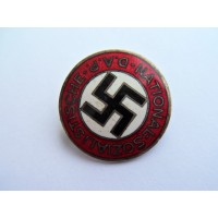 NSDAP Party Badge marked GES. GESCH.
