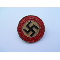 NSDAP Party Badge marked RZM M1/25 maker Rudolf Reiling, Pforzheim.