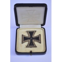 Iron Cross First Class 1939 by Klein & Quenzer, Idar-Oberstein.