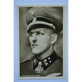 KC Winner Postcard - Waffen SS obersturmbahnfuhrer Hans Dorr.