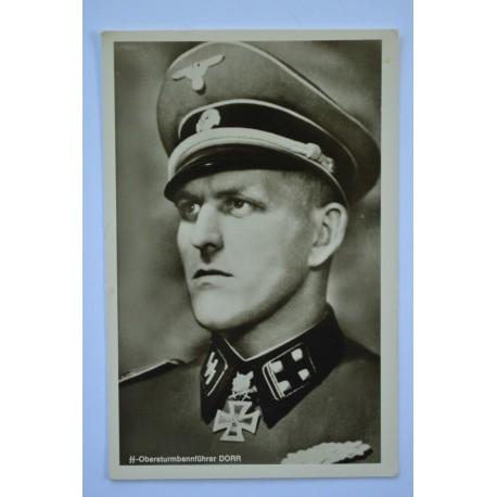 """ARTWORK POSTCARD  """"Panzermann""""."""