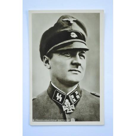 KC Winner Postcard - SS obersturmbahnfuhrer August Dieckmann.