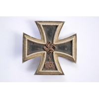 IRON CROSS FIRST CLASS 1939 MARKED 26, BY B. H. Mayer, Pforzheim.