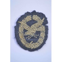 Radio Operator & Air Gunner Cloth Badge