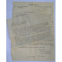 Three Award Documents to Panzer Grenadier.