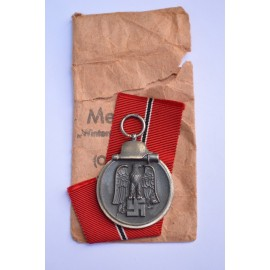 A 1941 - 42 EAST MEDAL marked 15 with paper bag maker Friedrich Orth, Wien.