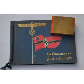 TWO A SECOND WORLD WAR GERMAN PHOTO ALBUMS.