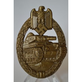 TANK BADGE - BRONZE GRADE BY FERDINAND WIEDMANN