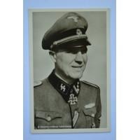 KC Winner Postcard - Waffen SS Hauptsturmführer Anton Vandieken.